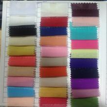 Wholesale 100% Polyester organza chiffon fabric cheap