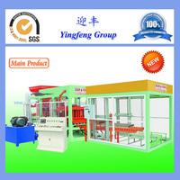 Professional manufacturer QT8-15 hydraulic type concrete block moulding machine