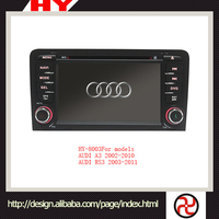 Newest design high quality car dvd gps navigation system for AUDI A3 2002-2010