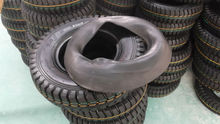 New lug pattern Rubber tire and tube 4.00-8 8pr for Saudi Arabia