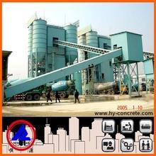 HZS90 Industrial Conveyer Belt Precast Concrete Batching Plant