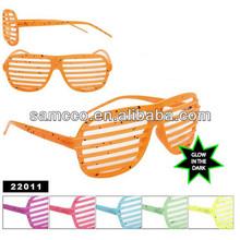 Glow Shutter Shades Sunglasses