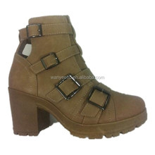 New Fashion ankle heel half boot girls boots 2015 winter boots for women