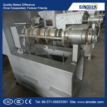 Supply high pressing oil rate oil press / oil press machine for sunflower