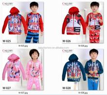 Ultraman zip up hoodies children great quality coat boys big hero coat wholesale
