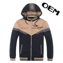 OEM design stylish men polartec fleece jacket in new design
