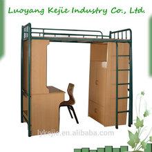 China factory price Metal bunk Bed cheap bunk beds in high quality metal cheap bunk bed for bedroom furniture Steel bunk bed