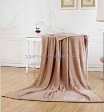China soft faux fur flannel fleece blanket wholesaler, hot sales Nap blanket