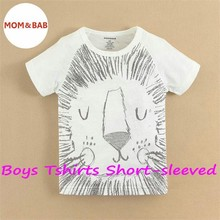 Factory Price Short Sleeve Tshirt, mom and baby Cothes, Boys Wear(1500701)