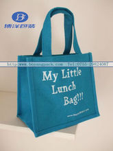Fashion tote jute bag