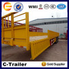 good quality 3axles 45Tons 1,000mm fiberglass trailer