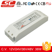 3 years warranty dimmable led power supply 36W 12V constant voltage dimmable led driver for triac dimmers
