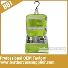 Factory supply travel nylon toiletry bag organizer
