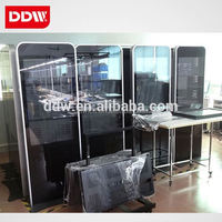 Interactive Multi Touch Foil Use For 46 Inch Double Sides Floor Standing Digital Signage Outdoor Ar Glass DDW-AD4601SN