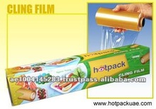 Soft Transparent Food Packaging Plastic Wrap Films