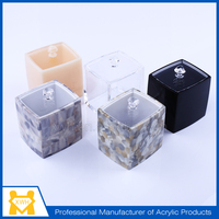 Manufacturer supply acrylic candy box with logo