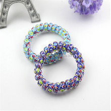 Elastic Ponytail Holders For Girl/telephone wire hair band/hair string