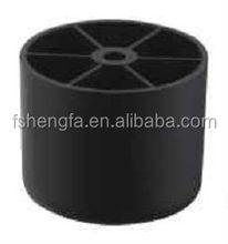 small round plastic sofa feet PP033