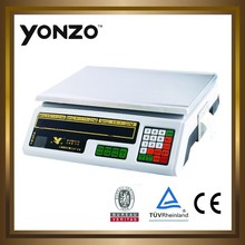 New style electronic price computing scale with print YZ-208(print)