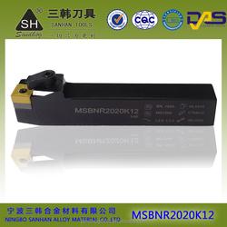 MSBNR/L CNC turning parts external tool holders metal cutting tools turning holder sandhog