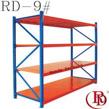 galvanized file with metal wire floor shelf rack
