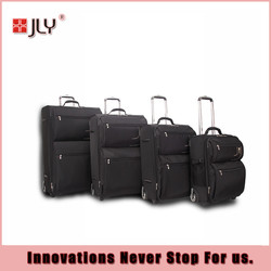 JLY 20''/24''/28''/32'' 4pcs travel trolley luggage/soft luggage/travel luggage bags in hotselling
