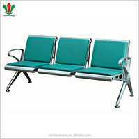 3 seater airport lounge chair bank waiting room chair and bus station waiting chair