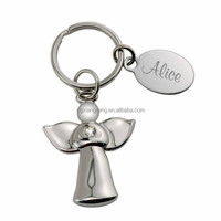 Guardian Angel Personalized Key Chain for kids