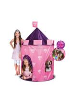 Pink nylon princess play tent kid for girls