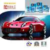 Competitive price 2k car paint toner