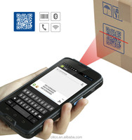 3g Android Industrial 2d barcode scanner handheld PDA phone with NFC reader,BT,wifi