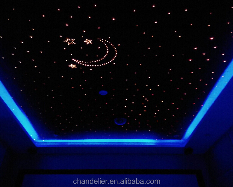 fiber optique d coration plafond toil en fiber fiber de plafond toil lumi re led fiber. Black Bedroom Furniture Sets. Home Design Ideas
