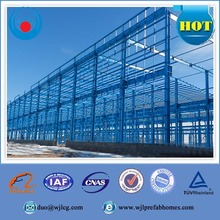 Economical Mobile Fabric Prefabricated Steel Structure Warehouse