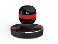 wireless recharging magnetic levitating bluetooth speaker