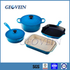 Hot sale enameled cast iron cookware made in China