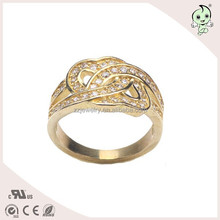 Cheap Price and High Quality Real 925 Sterling Silver Princess and Bride Ring