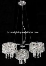 European design crystal pendant light/ nice pendant light with crystal drops