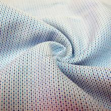 100 percent cotton dobby yarn dyed woven fabric