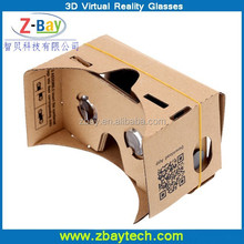 Best Gift 3D Virtual reality google cardbaord vr Glasses for smart phone