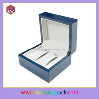 luxury wooden box for two a pair watch cheap (WH-0648)