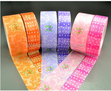 Water activated waterproof washi paper tape on stock