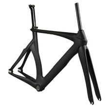 Trade Assurance Full Carbon 700C Track Bike Frame Glossy/Matte