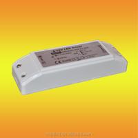 high pf 12v 24v 45w 0~100% dimming triac constant voltage led power driver dimmer led driver transformer for led lighting