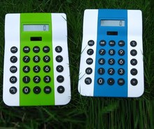 2015 new design dual power two power cheap solar desktop calculator