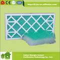 Auto estación aspersora de fibra de vidrio Panel filtro de pintura parada de fibra de vidrio primaria filtro
