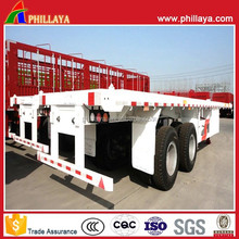 Flat Container High Bed Semi-trailer Truck For Sale