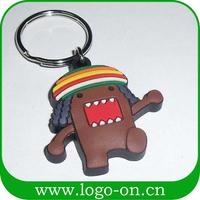 2015 New design 2D soft PVC keychain/customized keychain