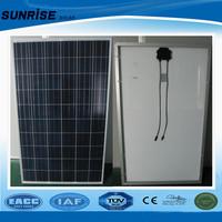 solar panel 250~260W poly solar module in stock yingli solar panel