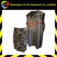 best price custom camo basketball uniform
