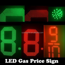 led numbers module display gas price sign numbers /led gas price double sided Gas Station Led Sign Price / P10 Traffic Led panel